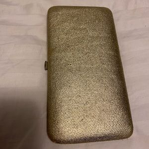 Urban Outfitters Gold Wallet